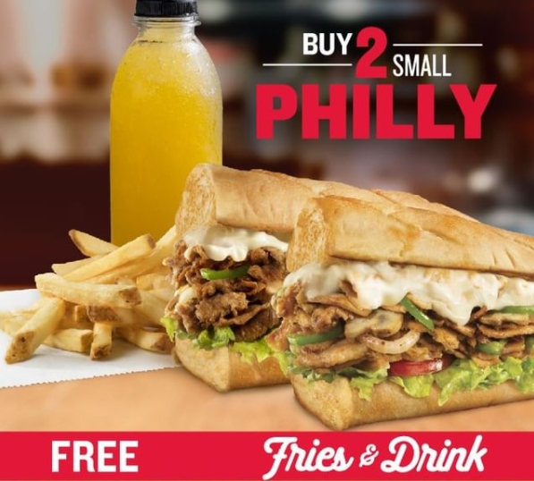 charley's philly steak bahrain offers